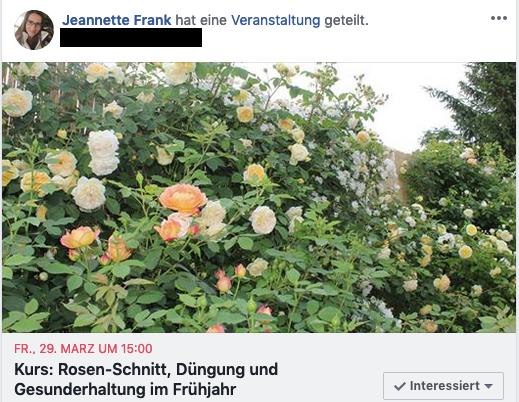 Fb-Einladung Kurs Rosen, Galarosa, Jeannette Frank