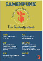 Ankündigung Saatgutfestival Samenpunk Bamberg 2019