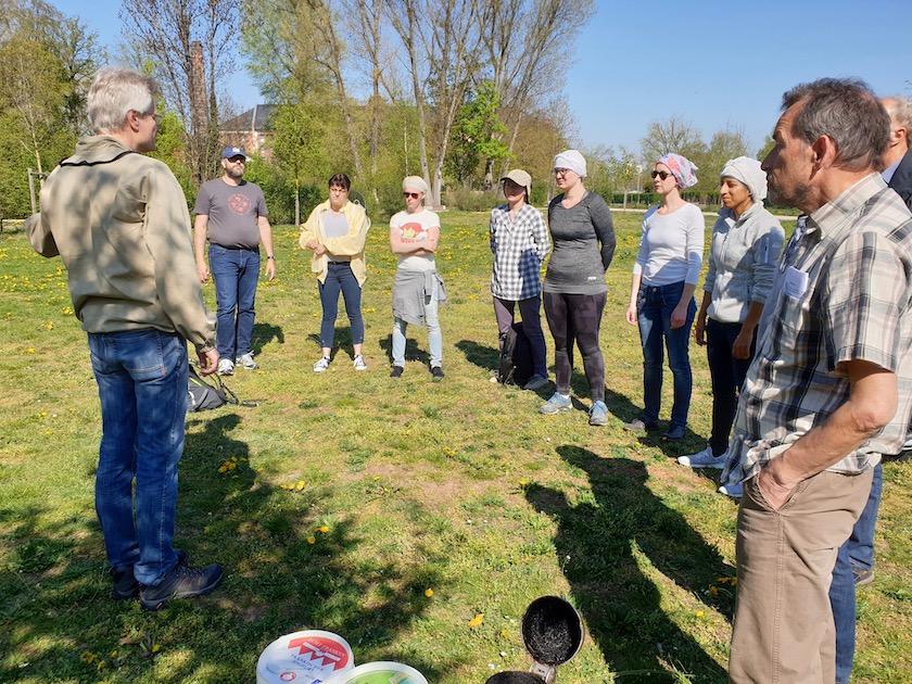Teilnehmer am BLIB-Imkerkurs für Anfänger 2019