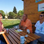 Anne und Hans Zirkel, Gäste zur Saisoneröffnung der Bienen-InfoWabe