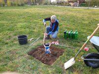 Brunnen-Baustelle sichern