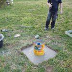 Brunnenfundament gießen durch Ralf Baumi