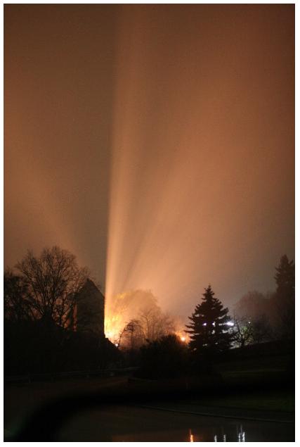 Bild zum Vortrag Lichtverschmutzung © Gemeinde Stegaurach