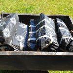 Sammeln der verpackten AFB-verseuchten aben