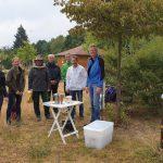 Imkeranfängerkurs 2019 zur Honigernte am Bienenweg
