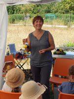 Ilona freut sich über Berta