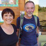 Bienenpate Manfred Alt zur Saison-Abschlussfeier der Bienen-InfoWabe