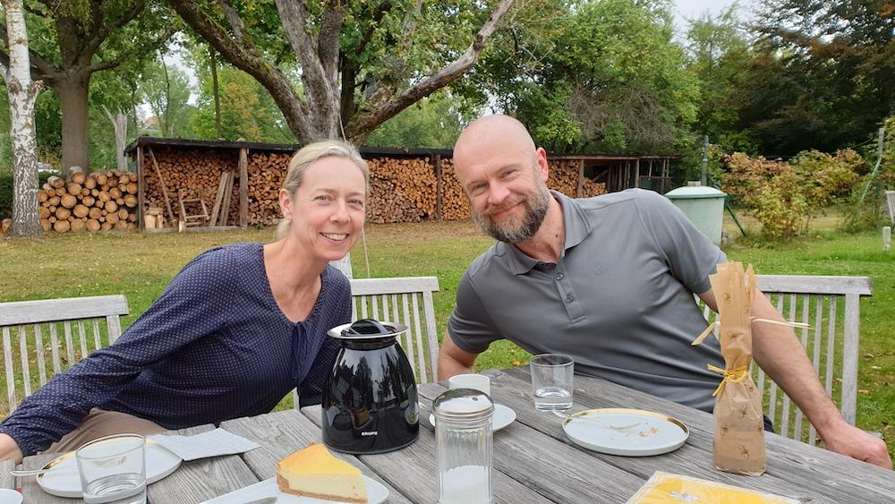 Tanja und Martin Bloeß im schönen Bughof