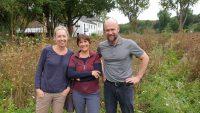 Tanja, Ilona und Martin in Bughof
