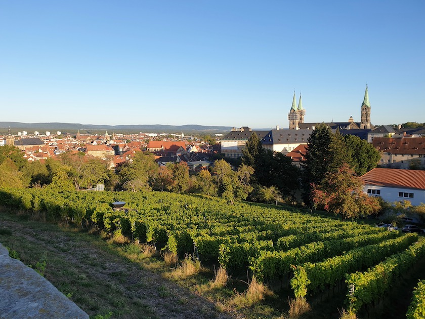 Traumhaftes Wetter, traumhafter Blick über Bamberg