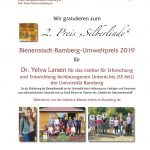 2. Preis BBU 2019 an Dr. Yelva Larsen