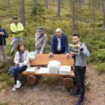 Michael Bierack erläutert Ausgrabungsfunde