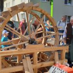 Mühlrad, erbaut für das Zeegenbachtal