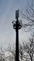 Der lang umstrittene Mobilfunksender in Bamberg-Bug