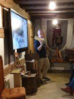Einführung durch Franz Landsgesell für Exkursionsteilnehmende im Zeidelmuseum