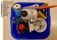 Materialien für Oxalsäurebehandlung