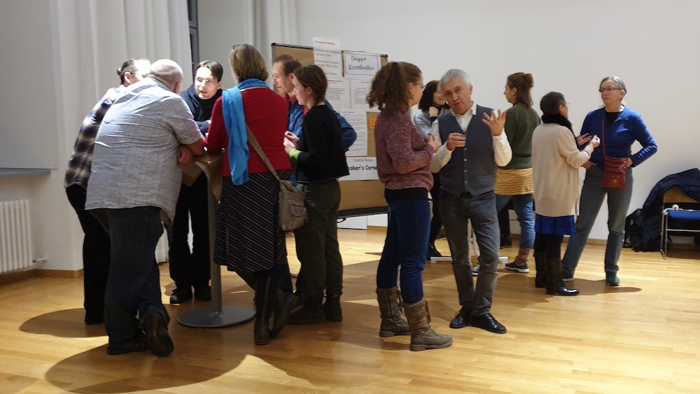 Februar-Plenum der Transition Bamberg als World Café,