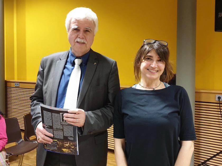 Ralf Haupt und Sabine Frank