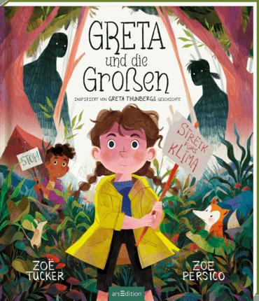 Cover Greta und die Großen, arsEdition