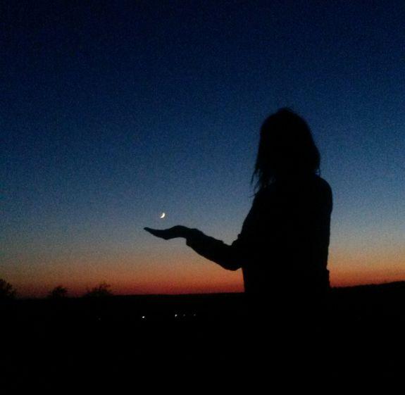 Sabine Frank: Den Sternenhimmel in der Hand