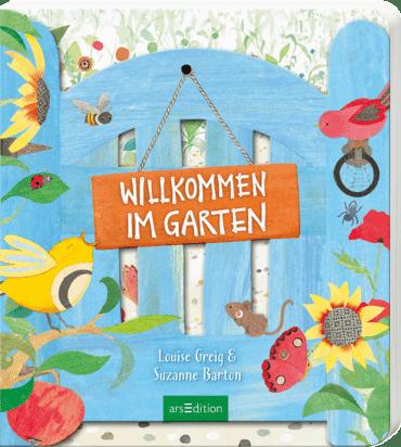 Cover Greig & Barton, Willkommen im Garten, arsEdition