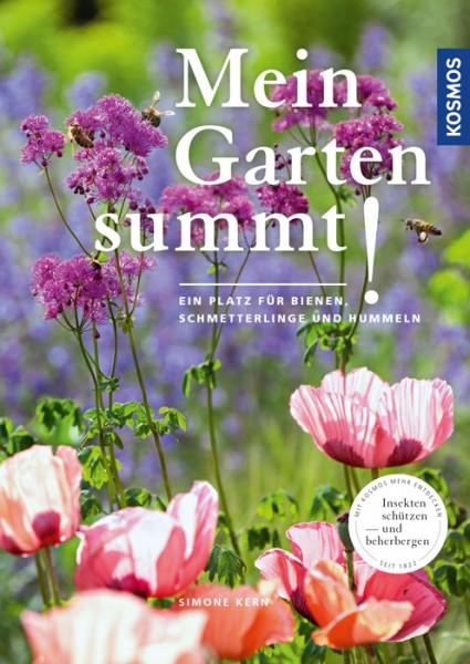 """Cover """"Mein Garten summt!"""" von Simone Kern (Kosmos)"""