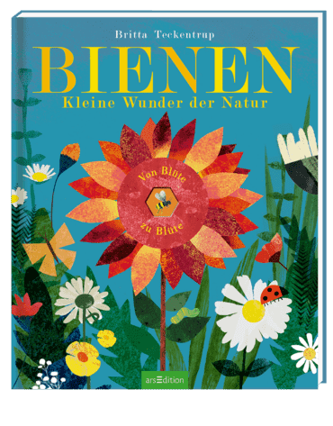 Cover Teckentrup, Bienen, arsEdition