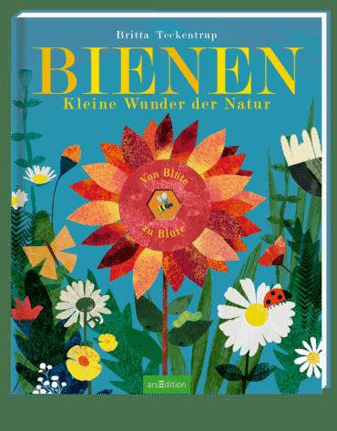 Cover Teckentrup, Bienen, arsEdition