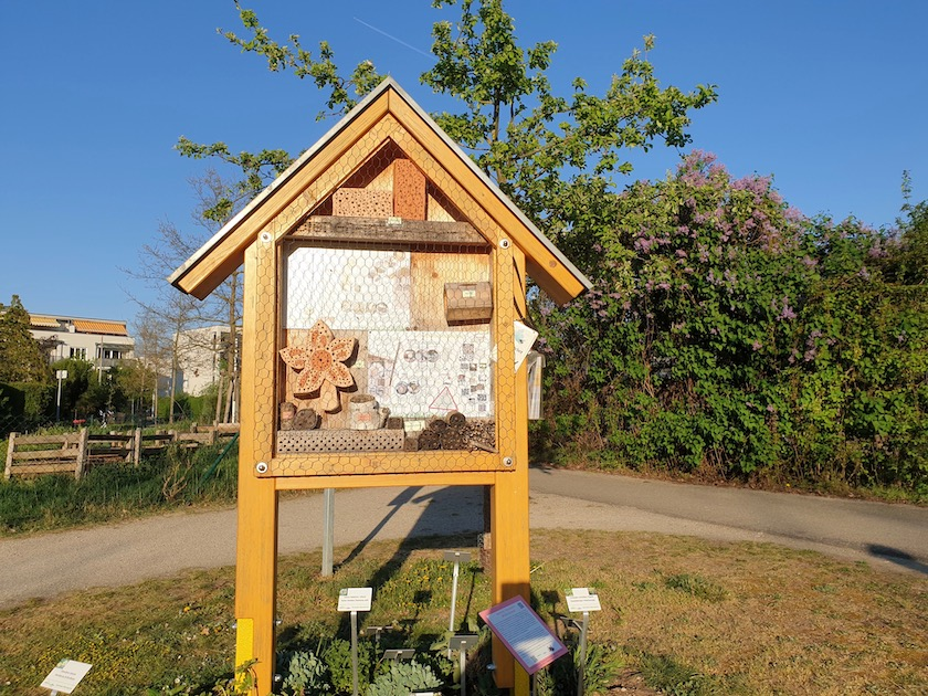 Wildbienenhotel am Bienenweg 1 in Bamberg