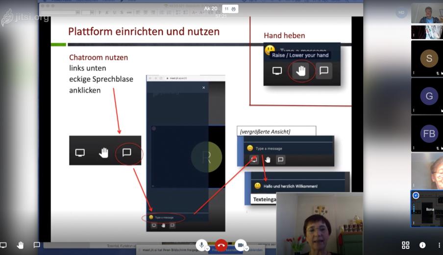 Screenshot Onlinekurs BLIB-Imkerkurs für Anfänger