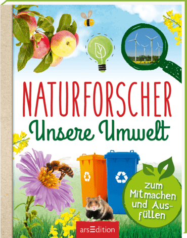 Cover Naturforscher Unsere Umwelt, arsEdition