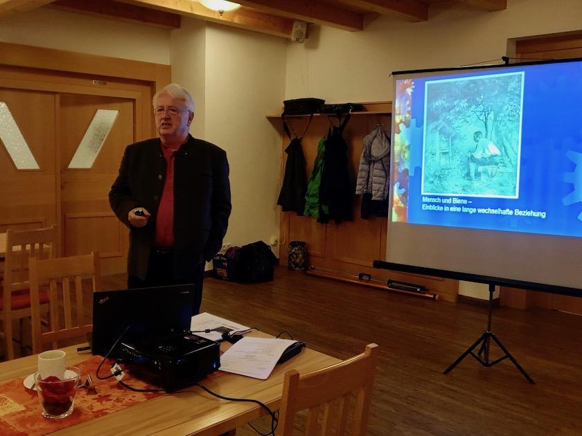 Dr. Raimund Schubert, Vortragender Herbstversammlung IBZV e. V. 2019