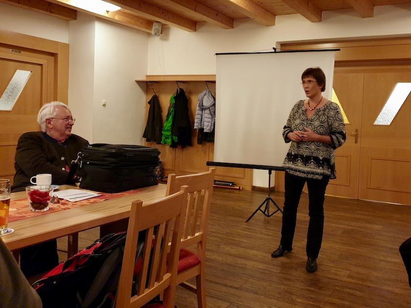 Ilona Munique, Vortragende zur Herbstversammlung IBZV e. V. 2019
