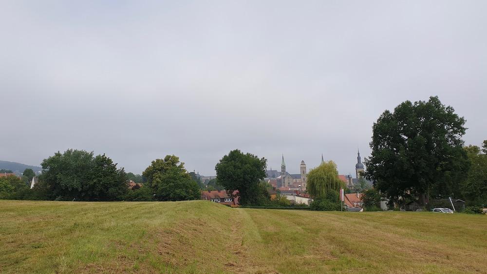 Aussicht von der Sternwarte nach Bamberg