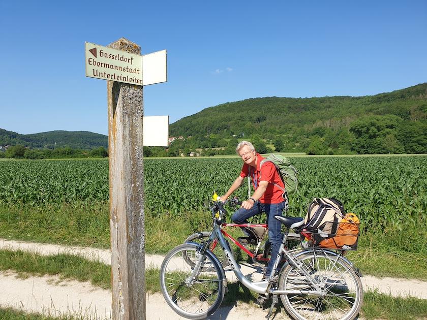 Radtour in die Fränkische Schweiz während des STADTRADELNS 2020