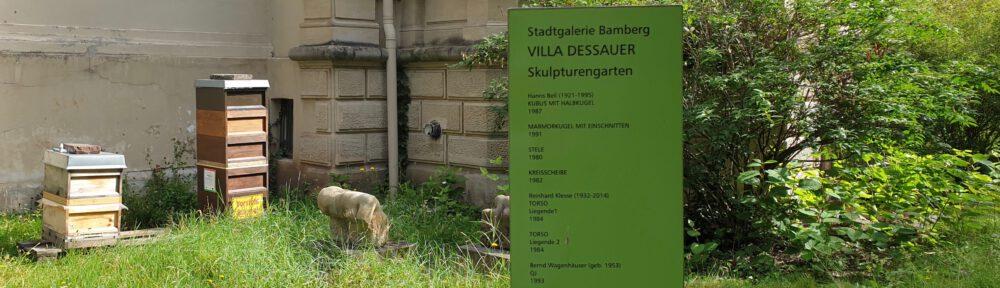Honigernte Bamberger Lagenhonig der Lage Villa Dessauer 2020