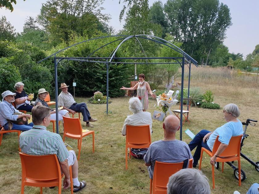 Vortrag im Bamberger Bienengarten