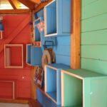 Farbcodierung der Innenwände Bienen-InfoWabe
