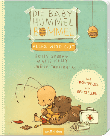 "Cover ""Die Baby Hummel – Alles wird gut"", arsEdition"