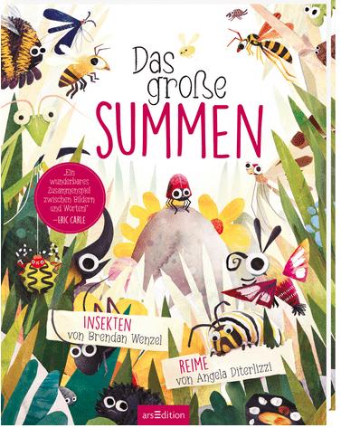 Cover Diterlizzi, Wenzel, Das große Summen, arsEdition