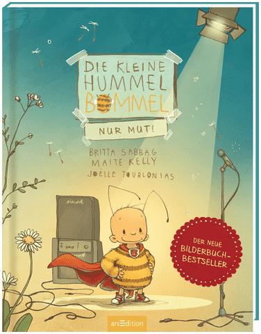 Cover Die kleine Hummel Bommel –nur Mut! arsEdition