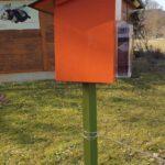Wildbienennisthilfe im Bamberger Bienengarten