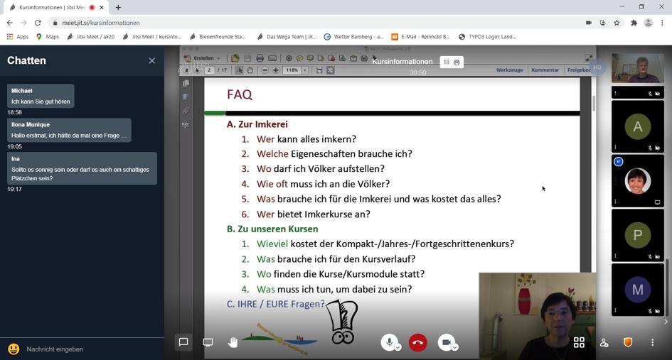 Video-Chat-Verlauf1-Infoabend-Imkerkurse-BLIB