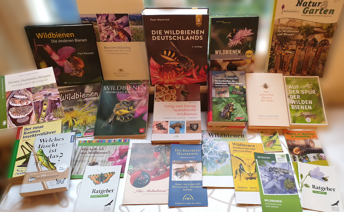 Literatur zu Wildbienen der Imker-Bibliothek / Bienen-leben-in-Bamberg.de